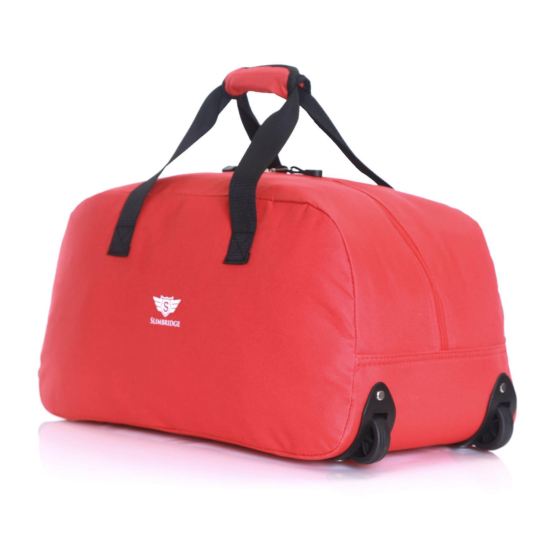 Slimbridge Castletown Cabin Approved Wheeled Bag, Red