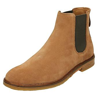 Mens Clarks Chelsea Boots Clarkdale Gobi