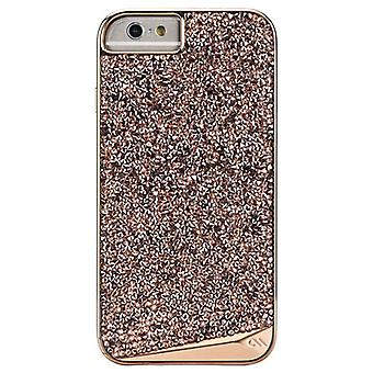 Case-Mate Brilliance Case for Apple iPhone 6/6s - Rose Gold / Diamond