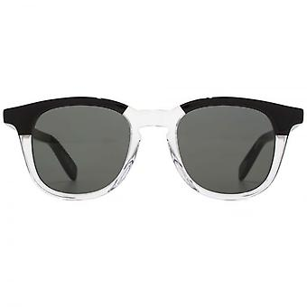 Saint Laurent SL 143 Sunglasses In Black & Clear