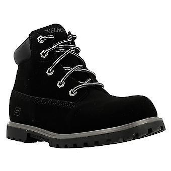 Skechers Mitigate 93163LBLK trekking winter women shoes