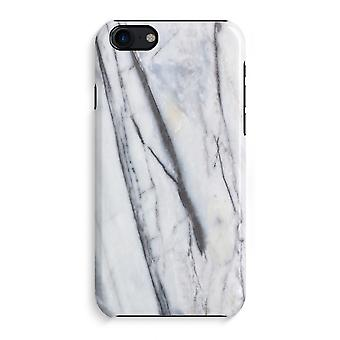 iPhone 7 Full Print Case (Glossy) - Striped marble