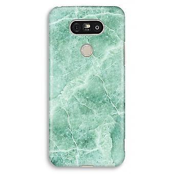 LG G5 Full Print Case - Green marble