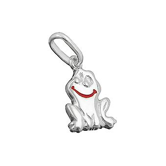 Smiling frog silver 925 pendant