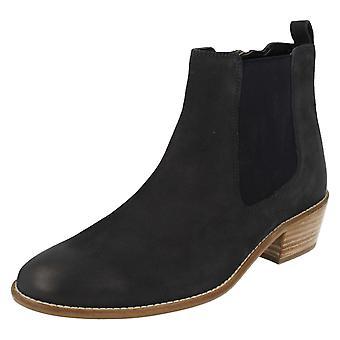 Ladies Van Dal Chelsea Style Ankle Boots Benton