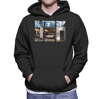Chevrolet Impala At The Auto Shop Men's Hooded Sweatshirt