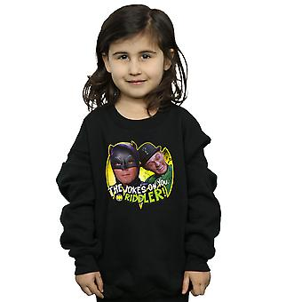 DC Comics Girls Batman TV Series The Riddler Joke Sweatshirt