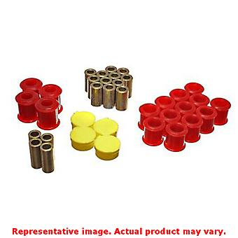 Energy Suspension Control Arm Bushing Set 7.3115R Red Rear Fits:NISSAN 1989 - 1
