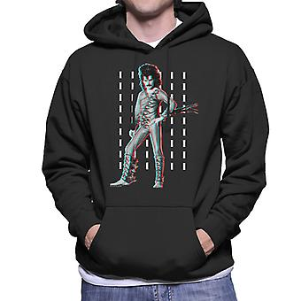 Freddie Mercury Of Queen Eye Costume 1984 Men's Hooded Sweatshirt