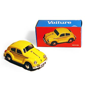 Car - Retro Tin Volkswagen collection - Jaune