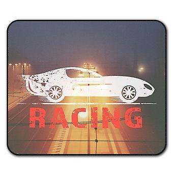 Speed Racing  Non-Slip Mouse Mat Pad 24cm x 20cm | Wellcoda
