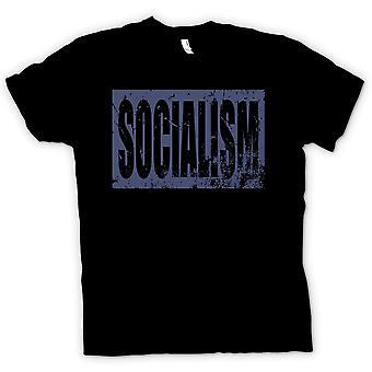 Kinder T-shirt-Sozialismus - politische