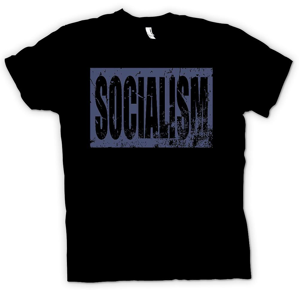 Mens T-shirt - Socialism - Political