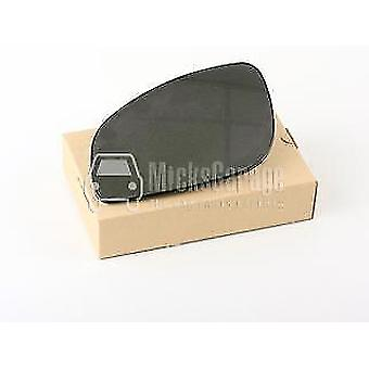 Left Mirror Glass (heated) & Holder for OPEL VECTRA C 2002-2008