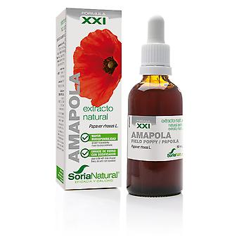 Soria Natural Extracto de Amapola Siglo XXI 50 ml (Herbalist's , Natural extracts)