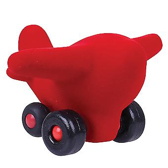 Rubbabu Soft Plush The Little Takota (Red) Sensory Squishy Baby Toddler Infant