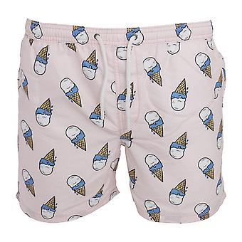 Brave Soul Mens Ice Cream Swimming Shorts