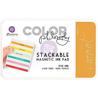 Prima Marketing Color Philosophy Dye Ink Pad-Carrot