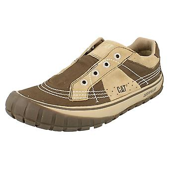 Mens Caterpillar Canvas Casual Shoes Fresco