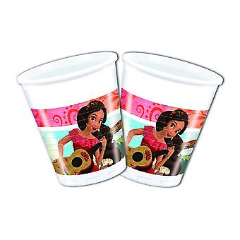 Elena of Avalor Caribbean party Cup drinking cups 200ml 8 piece children birthday theme party