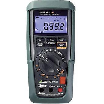 Gossen Metrawatt Metrahit Iso Insulation tester 50 V, 100 V, 250 V, 500 V, 1000 V 3.1 GΩ Calibrated to Manufacturers standards (no certificate)