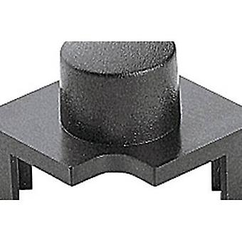 Marquardt 827.100.011 Sensor Cap Push button cap with round actuator, division> 15 mm Anthracite Compatible with (details) Series 6425 with LED