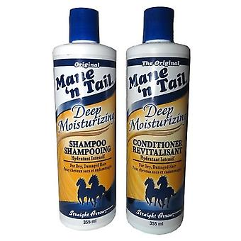 Mane 'n Tail Deep Moisturizing Shampoo 355ml & Conditioner 355ml