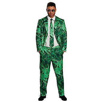 Hemp suit mens costume suit marijuana cannabis dope