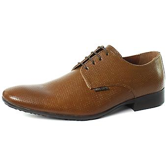 Red Tape MGS08882 Tan Mens Lace Up Derby Shoes