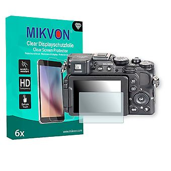 Nikon COOLPIX P7800 Screen Protector - Mikvon Clear (Retail Package with accessories)