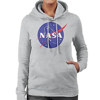 The NASA Classic Insignia Women's Hooded Sweatshirt