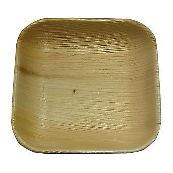 環境にやさしい使い捨てパーティー プレート - 17 cm 正方形 (25)