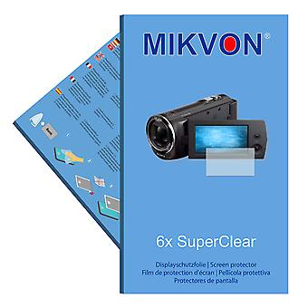 Sony HDR-CX220E screen protector- Mikvon films SuperClear