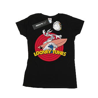 Looney Tunes Women's Bugs Bunny Surfing T-Shirt