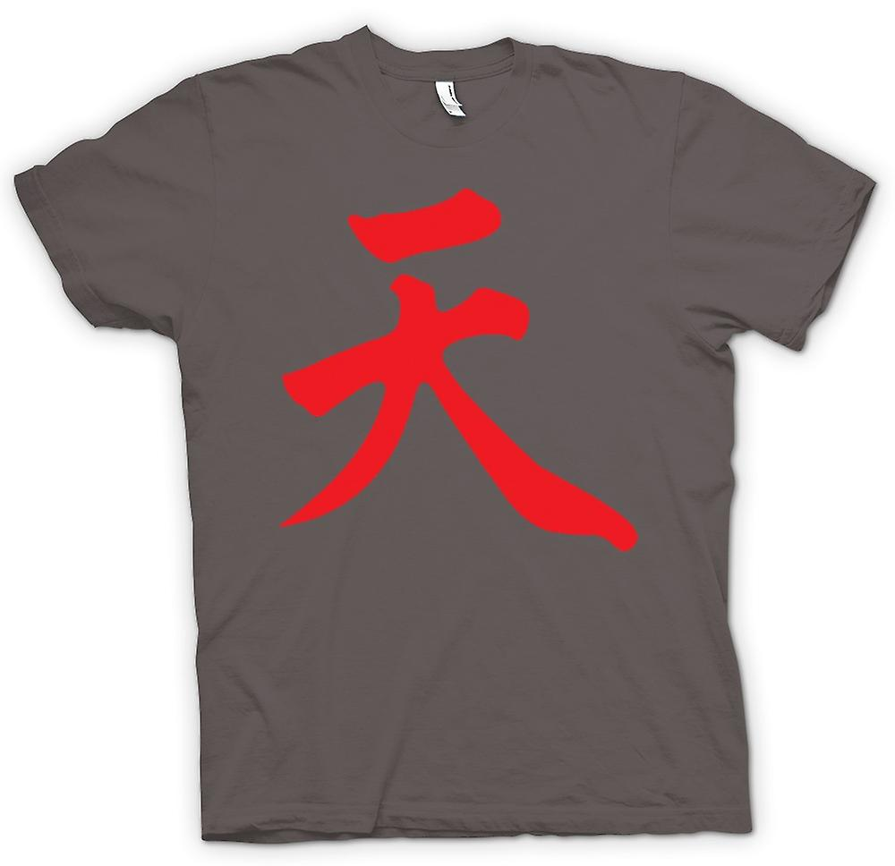 Mens t-shirt-Street Fighter - Akuma - giapponese del giocatore