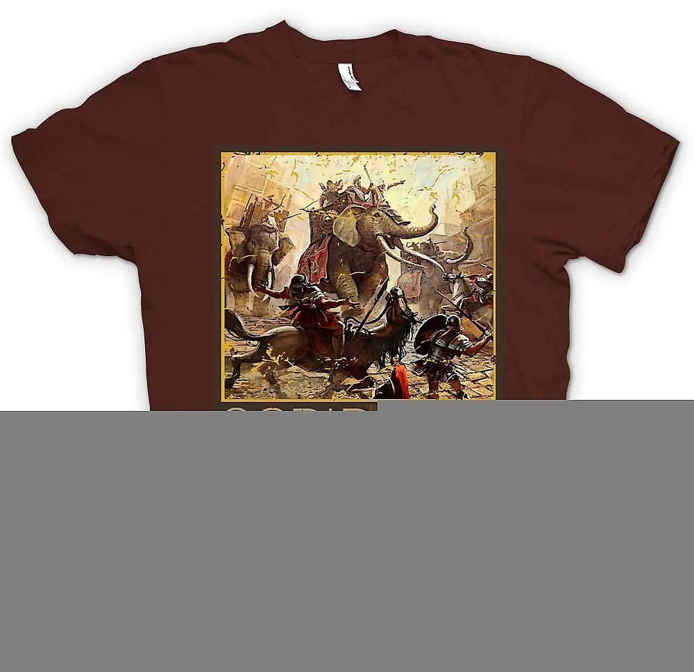 Mens T-shirt - Scripta VII - guerres puniques - Hannibal