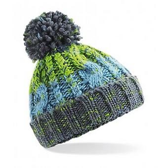 Beechfield Infants Corkscrew Pom Pom Beanie