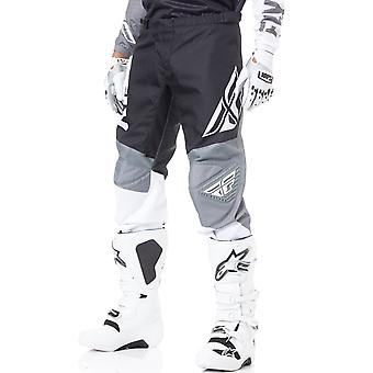 Fly Racing Black-White-Grey 2019 F-16 MX Pant