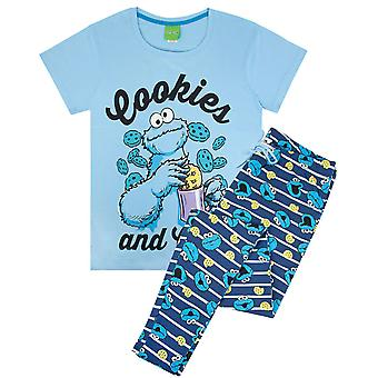 Cookie Monster Womens Pyjamas