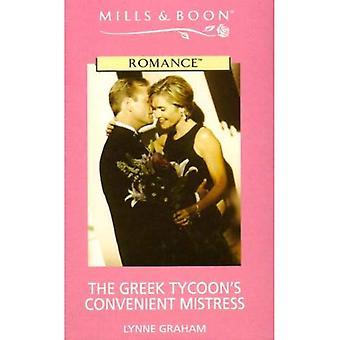 The Greek Tycoon's Convenient Mistress (Romance)
