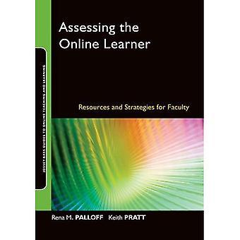 Bedömningen av Online eleven: resurser och strategier för fakultet (Online undervisning och lärande serie (OTL))