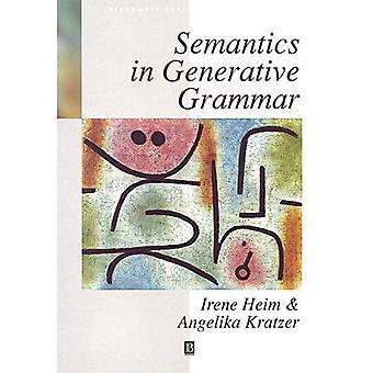 Semantyka w gramatyce generatywnej (Blackwell podręczników językoznawstwa)