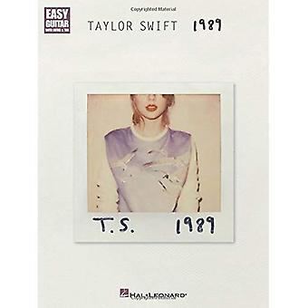 Taylor Swift: 1989 (enkel gitarr med anteckningar & fliken)