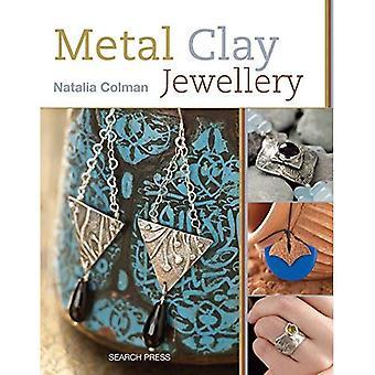 Metalen klei sieraden