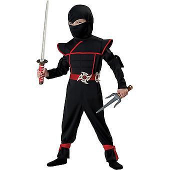 Abito Costume Ninja nero