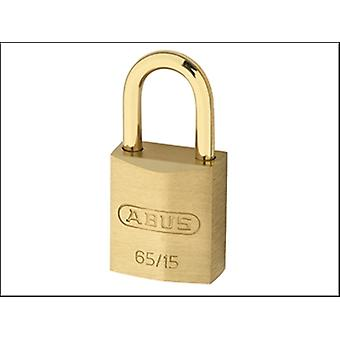 ABUS candado de latón de 30mm de 65MB/30 & Shackle grillete largo 70 cardado