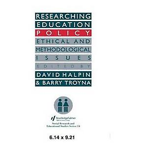 Researching Education Policy by Halpin & David