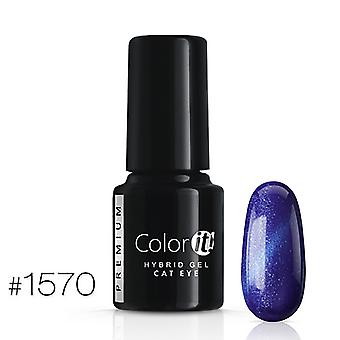 Gel Polish-Color IT Premium-Cat Eye-* 1570 UV gel/LED