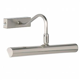 Endon PL-LEDG9-SC Linton Satin Chrome Picture Light