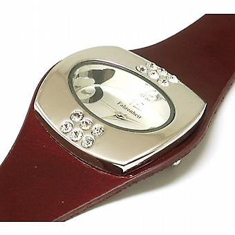 Fahrenheit Metallic Red Ladies Fashion Watch